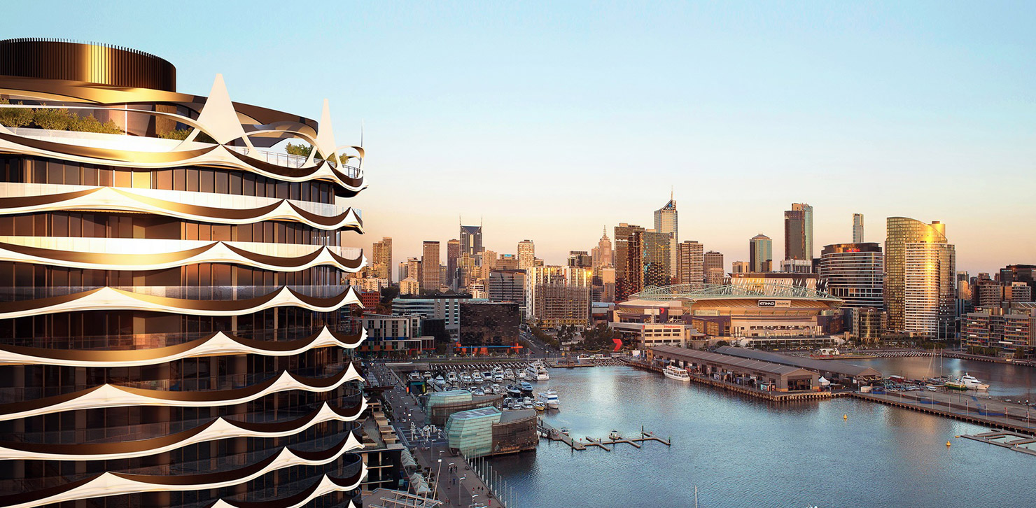 banksia docklands apartments in Newquay