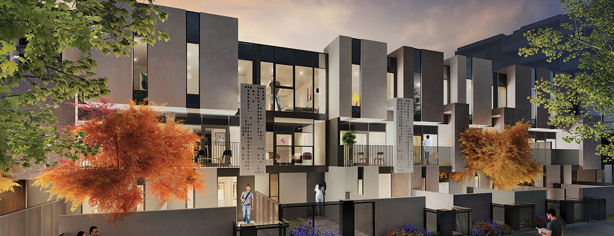 forte dandenong townhouse